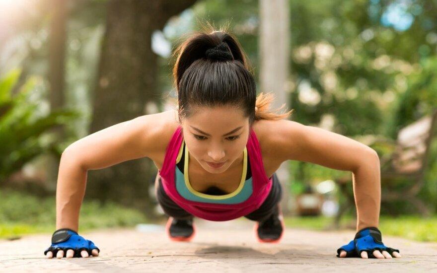 7 pratimai, kurie per mėnesį pakeis kiekvieną kūno dalį