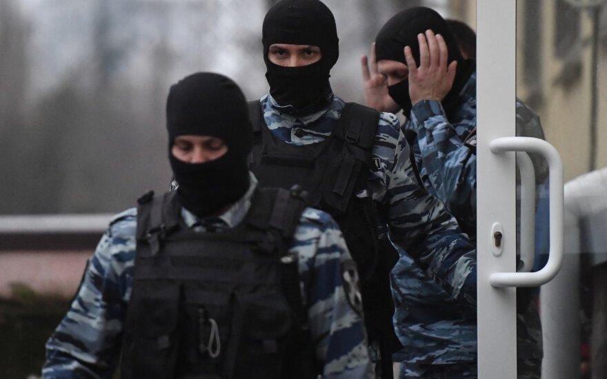 Sulaikytų Ukrainos jūreivių teismas