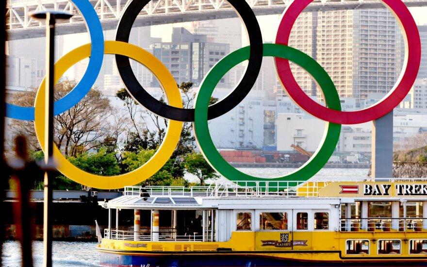 Tokijo olimpinės žaidynės yra nukeltos