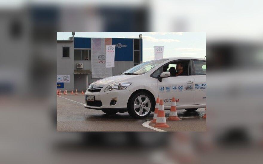 Geriausiojo vairuotojo paieškos persikelia į Vilnių