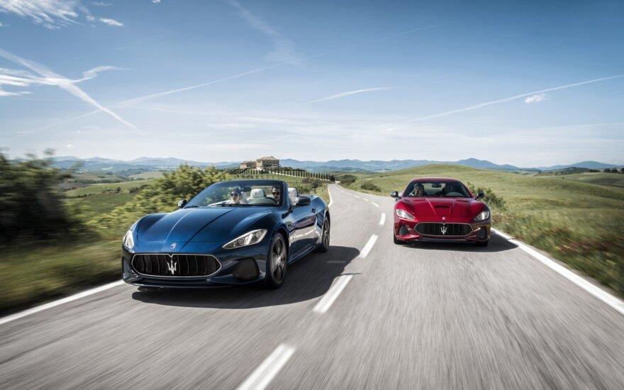 """Maserati GranTurismo"" ir ""Maserati GranCabrio"""