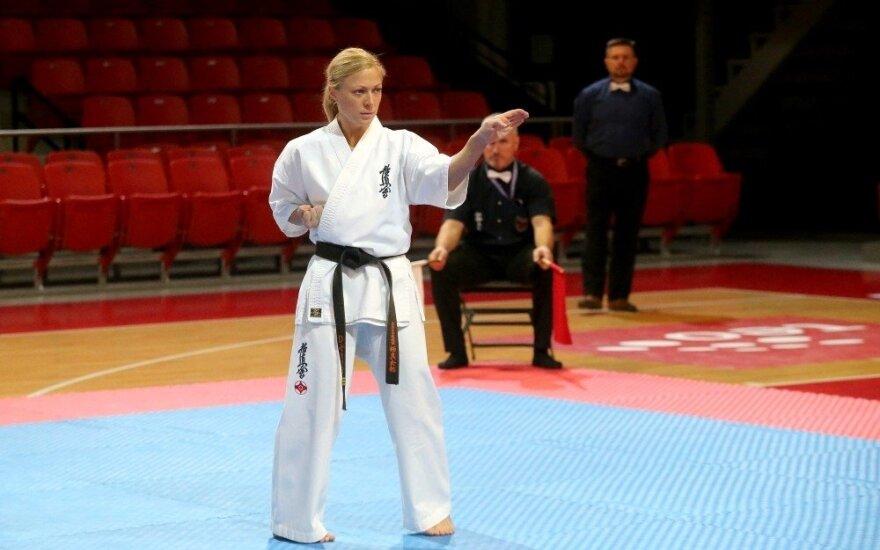 Diana Mačiūtė (Kiokušin federacijos nuotr.)