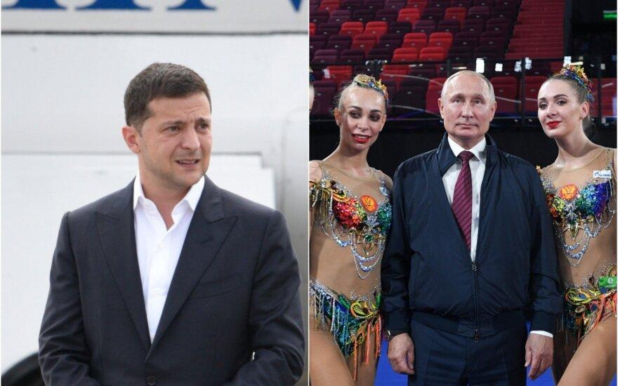 Volodymyras Zelenskis, Vladimiras Putinas