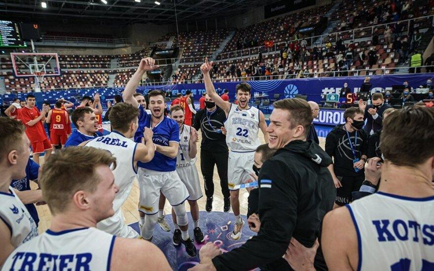 Estija prasibrovė į Europos čempionatą, latviai ir vėl pralaimėjo