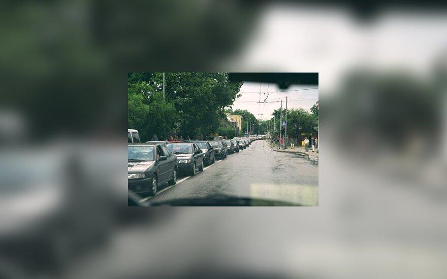 Automobilių kamščiai