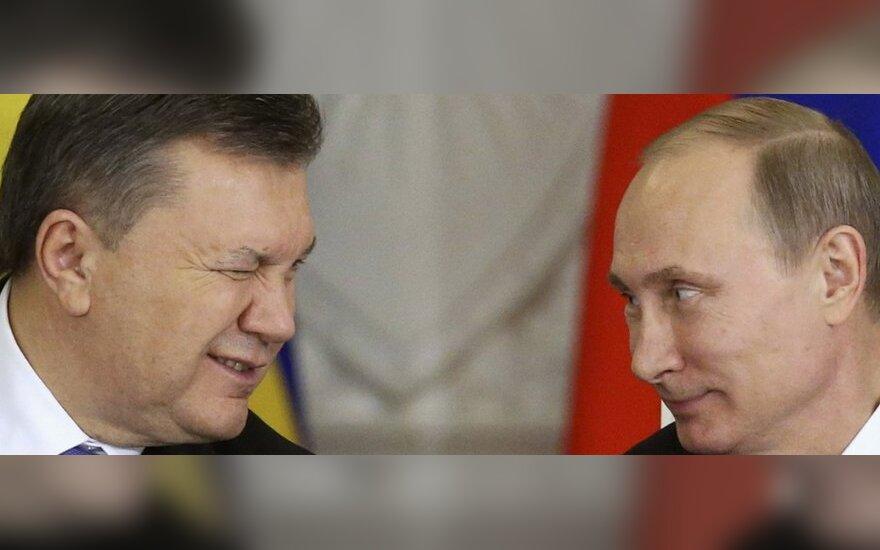 Ukrainos prezidentą - į tarptautinį teismą