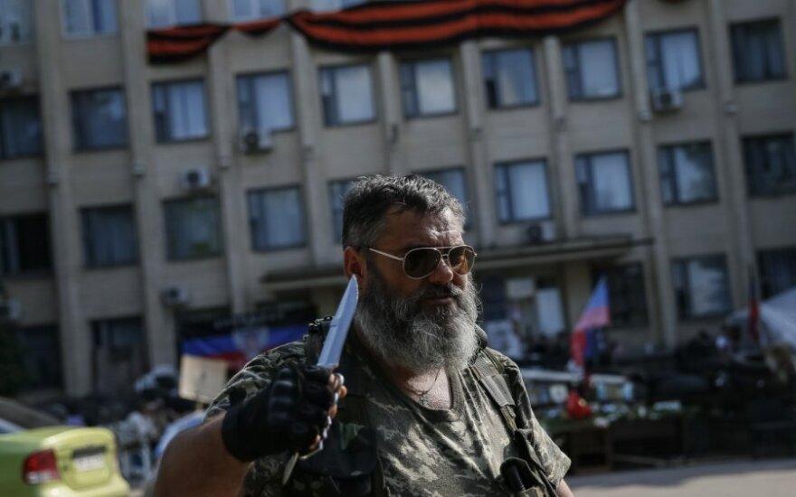 Ukraina: teroristai platina informaciją apie vado žūtį