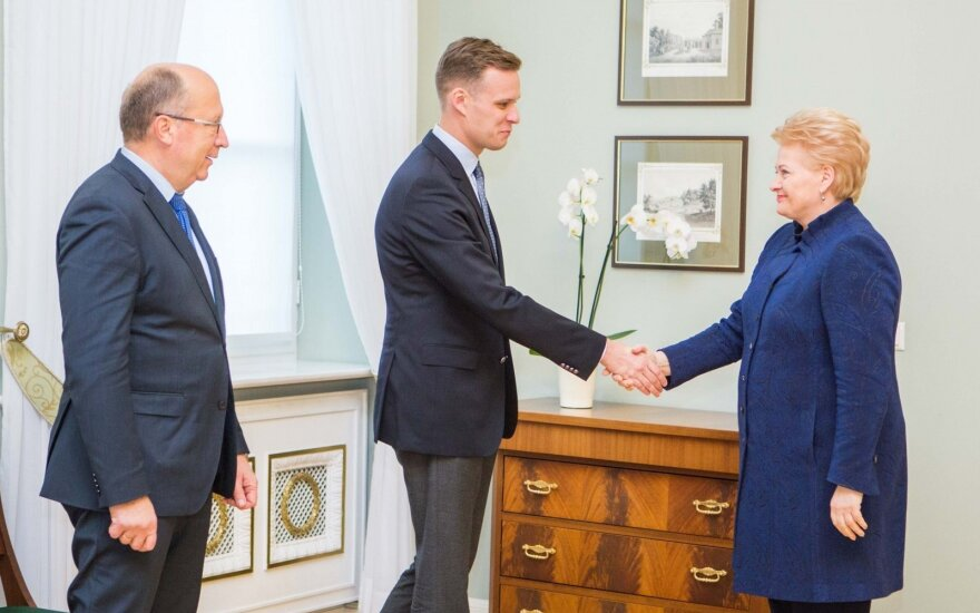 Andrius Kubilius, Gabrielius Landsbergis, Dalia Grybauskaitė