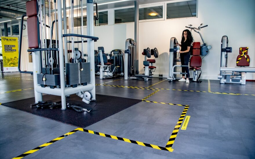 Sporto klubams leidžiamos individualios treniruotės, bet duris atvers ne visi: vienoje salėje – ne daugiau vienos treniruotės