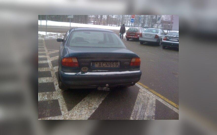 Kaune, Veiverių g. 150b. 2010-12-04, 12.50 val.