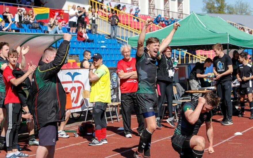 Fantastika: Lietuvos regbininkai jau pasibaigus laikui išplėšė pratęsimą, o tada – ir istorinę pergalę