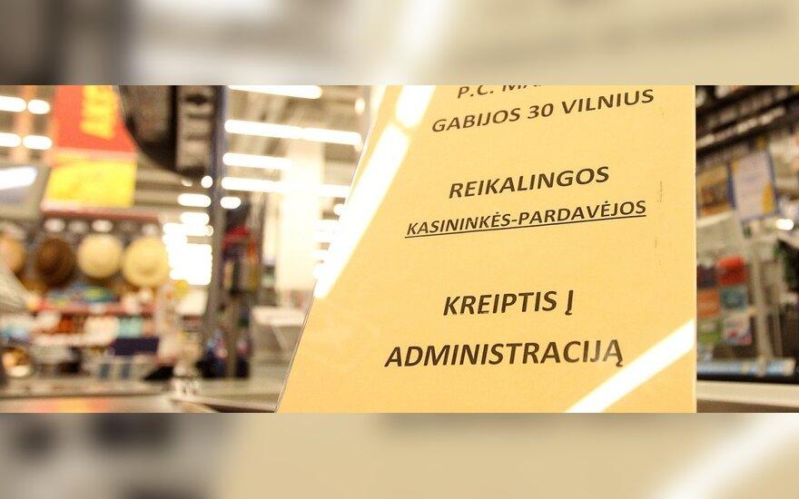 """Vasarai """"Maxima"""" priims 400 papildomų darbuotojų"""