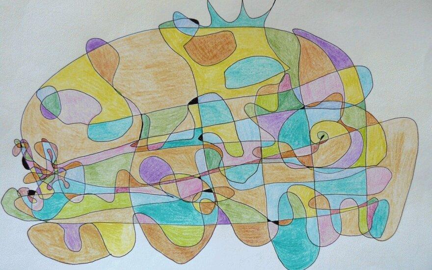 Fraktaliniai piešiniai – ir menas, ir savęs pažinimas