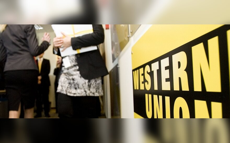 """Iš """"Western Union"""" gali atimti dalį paramos"""