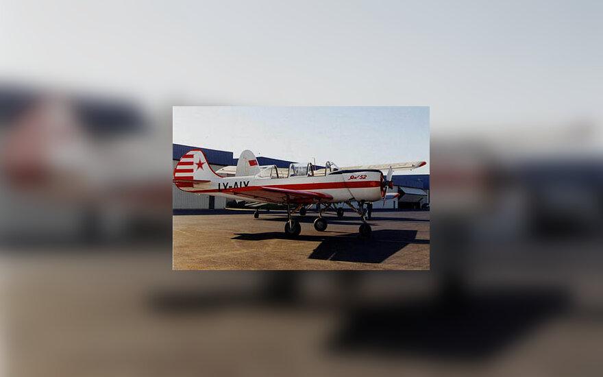 """Jak-52"" lėktuvas"
