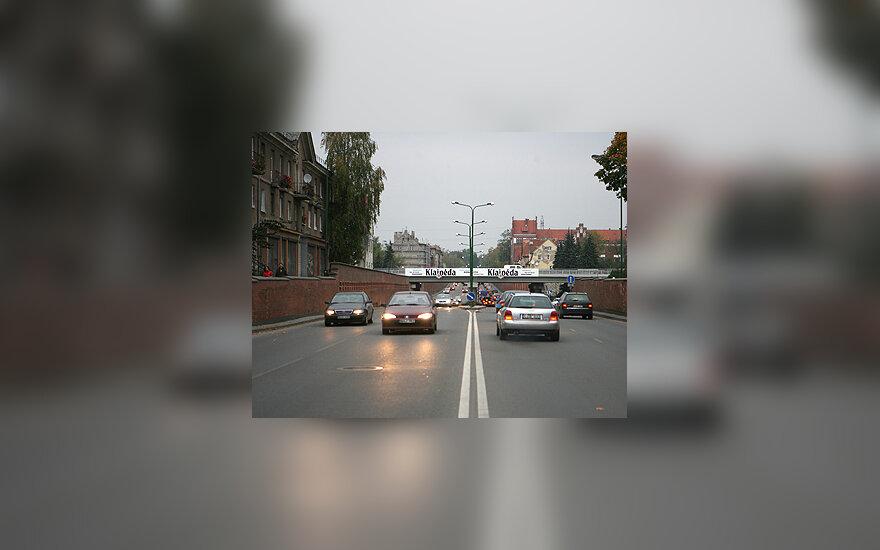 Herkaus Manto gatvė Klaipėdoje