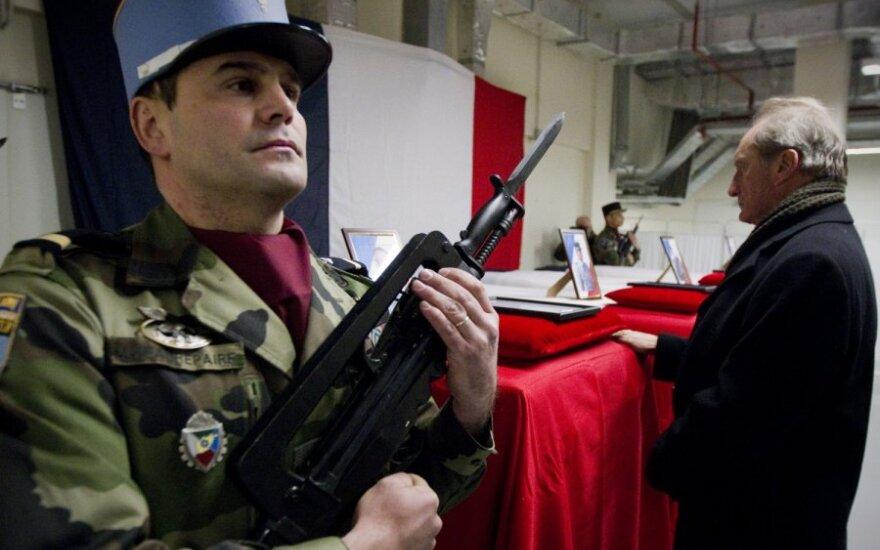 Afganistane nušauti 4 Prancūzijos kariai