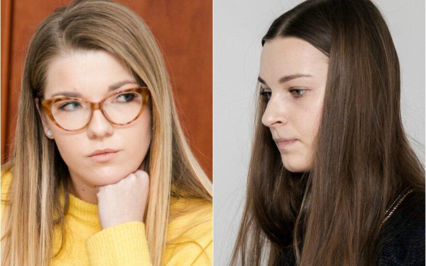 Gabrielė Senkevičiūtė ir Lina Anušauskienė