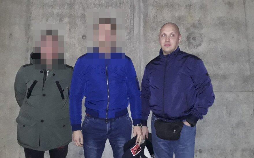 Neseniai Vokietijoje įkliuvęs ir vėl laisvę atgavęs A. Stiklioraitis buvo nufotografuotas