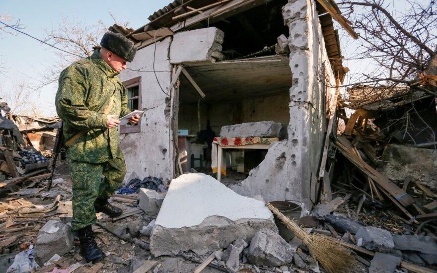 Prorusiški separatistai Horlivkoje
