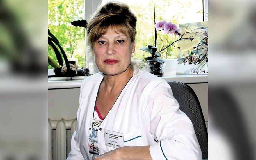 Gydytoja Gražina Genienė