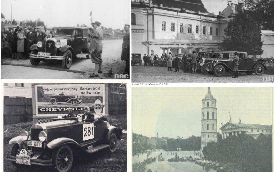 Automobilių lenktynės tarpukario Vilniuje