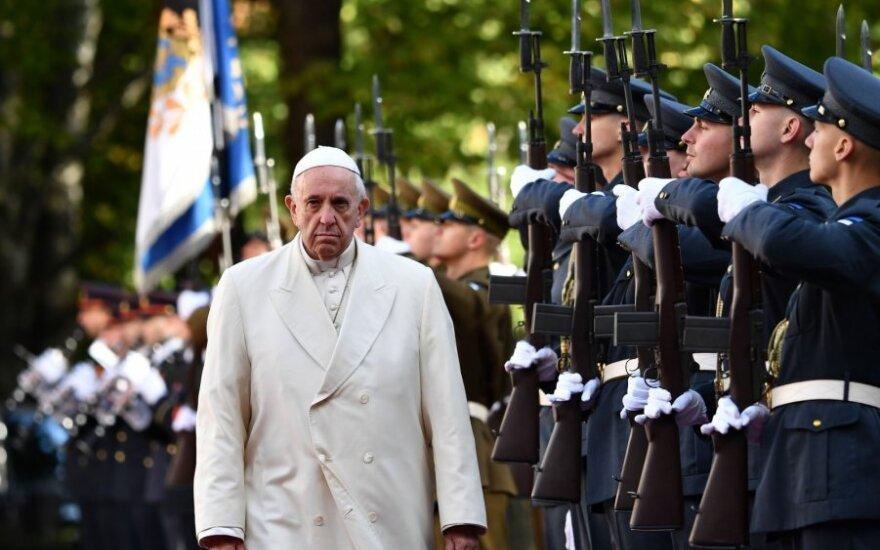Popiežius Pranciškus Taline