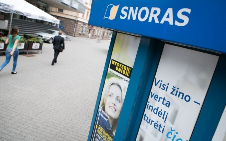 Snoras Bank creditors have already been paid almost 0.5bn euros