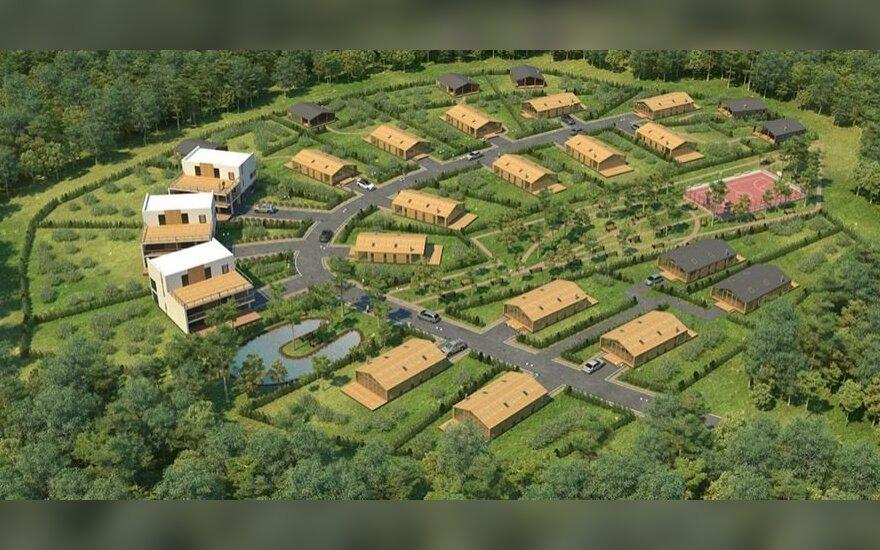 Baltarusiams pastatys kotedžų gyvenvietę prie Vilniaus