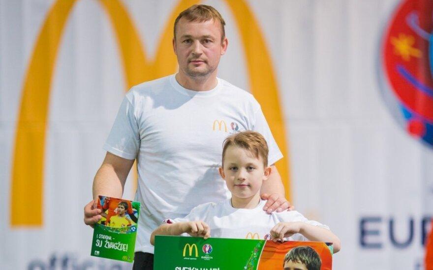 Prieš pat Euro 2016 finalą į aikštę žengs ir lietuvis Kirilas