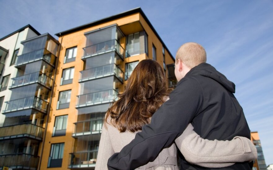 Vasario mėnuo buvo dosnus naujų butų rinkai