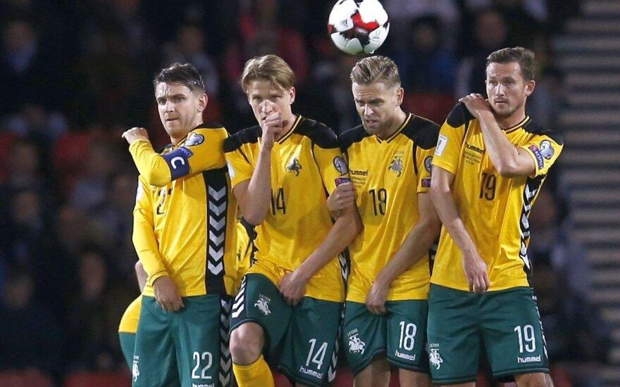 FIFA reitinge Lietuvos rinktinė pakilo į 107-ą vietą