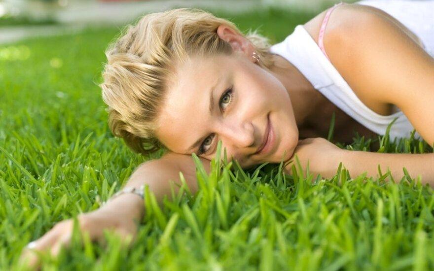Žaliasis vejos kilimas