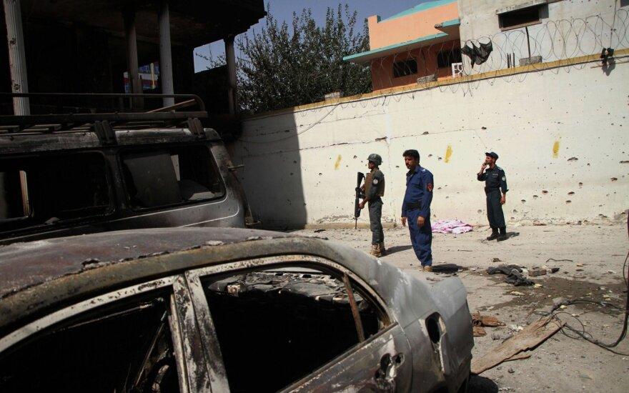 Pietų Afganistane iš talibų nelaisvės išvaduotas 61 įkaitas
