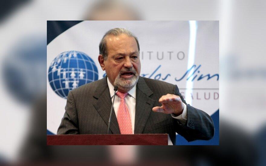 Turtingiausiu pasaulio žmogumi įvardintas meksikietis