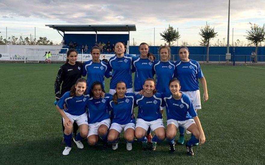 "Merginų futbolo ""Lleida"" komanda"