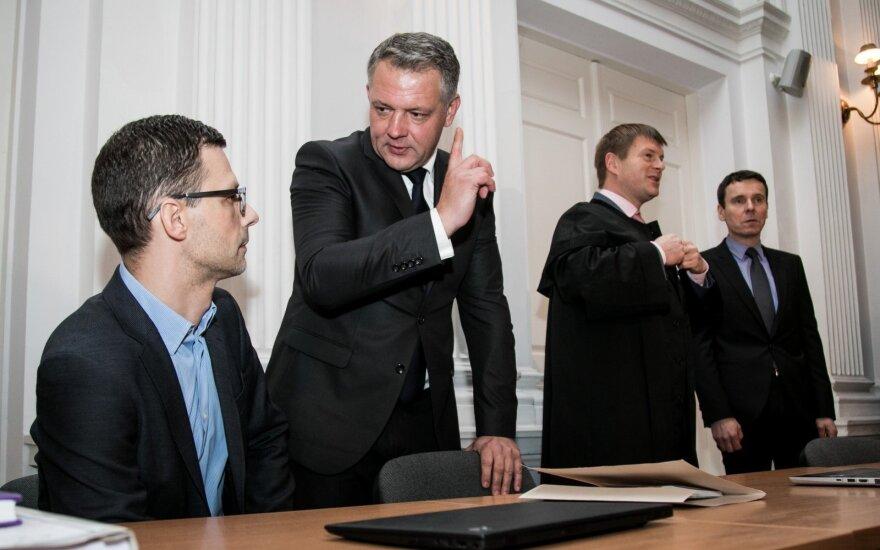 Šarūnas Gustainis, Eligijus Masiulis, Raimondas Kurlianskis