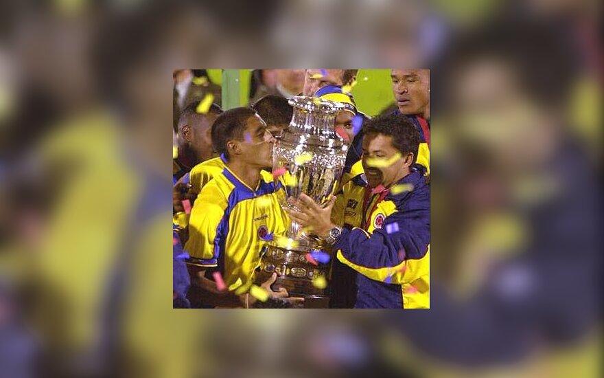 """""""Copa America"""" nugalėtojai"""
