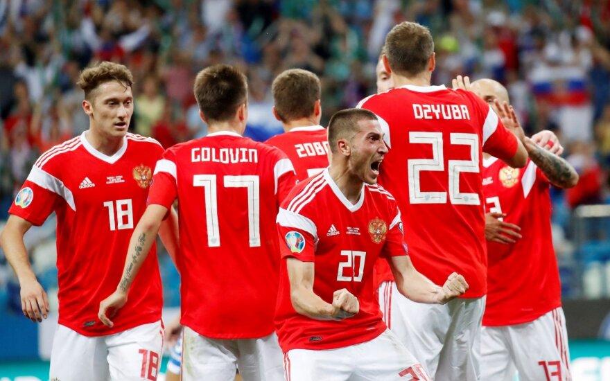 Rusijos futbolo rinktinė