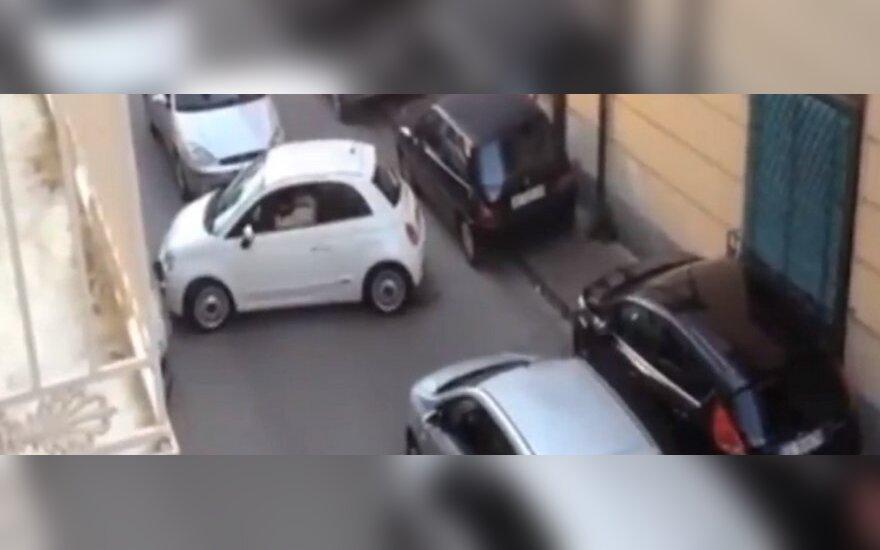 Automobilio statymas