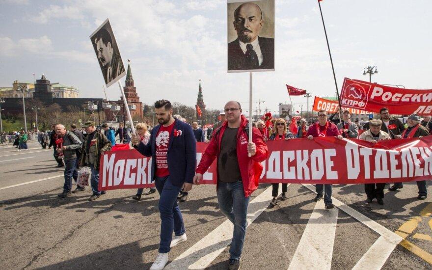 Dešimtys tūkstančių maskviečių reikalavo geresnės socialinės politikos