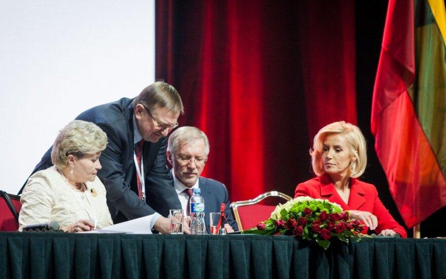 Irena Šiaulienė, Juozas Bernatonis, Gediminas Kirkilas, Živilė Pinskuvienė