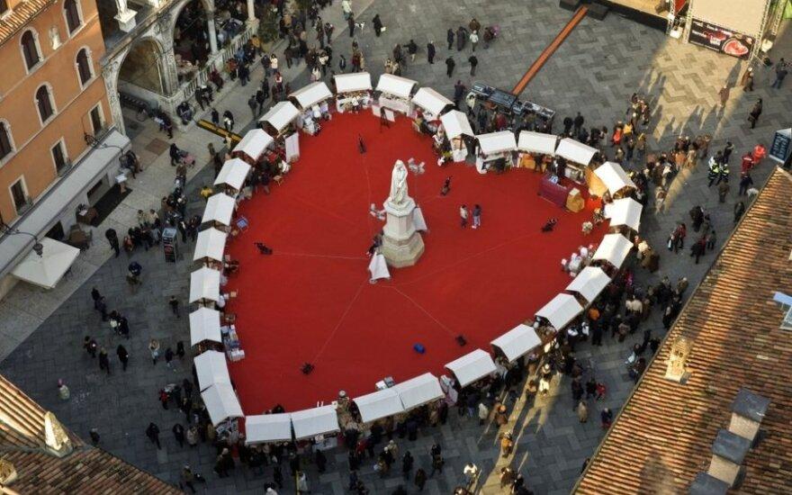 Verona - nepamirštamų aistrų miestas