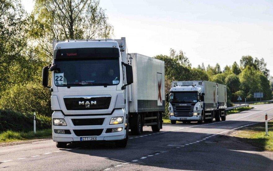 Sunkvežimių ekonomiško vairavimo varžybos