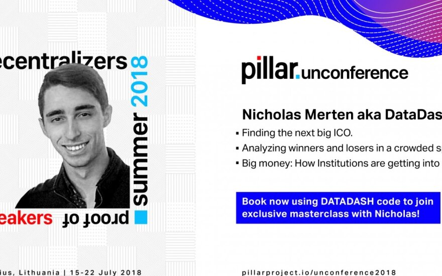 Unconference speaker Nicholas Merten