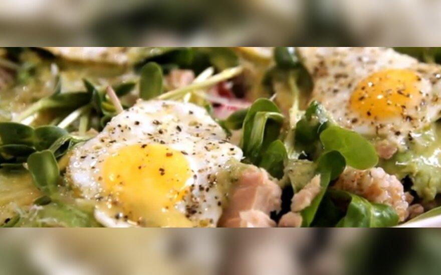 """""""VMG"""": gaivios pavasariškos salotos"""