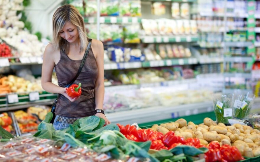 Lithuanians spend less on food than Latvians or Estonians