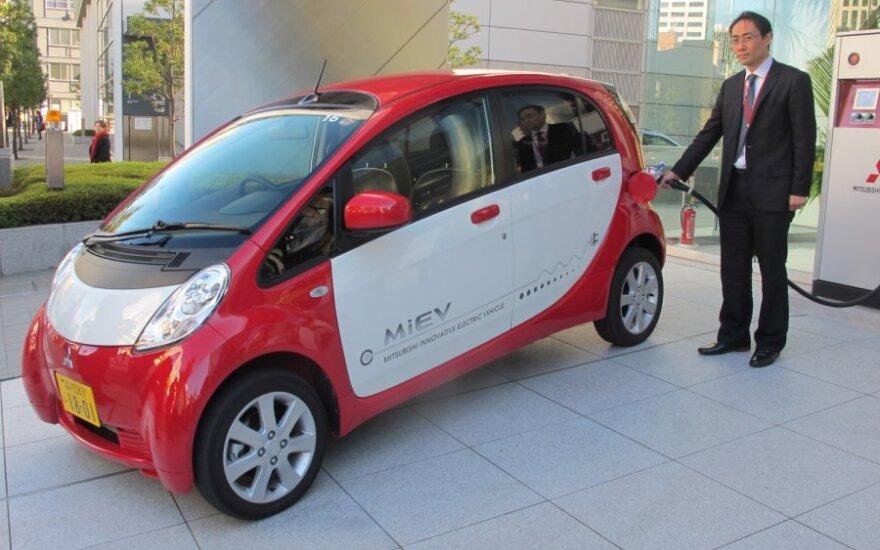 """Mitsubishi"" elektromobilis MiEV"