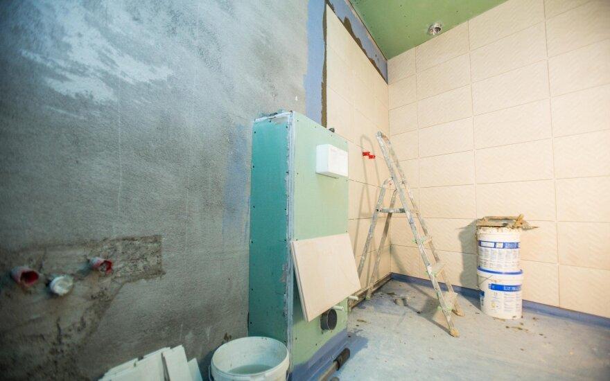 Viena klaida remontuojant butą gali skaudžiai atsirūgti: nuostoliai būna kosminiai