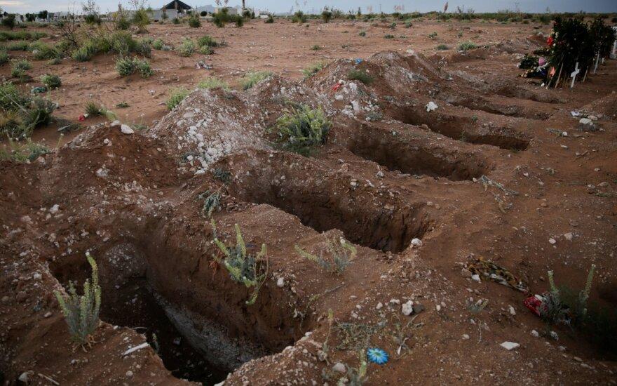 Meksikoje masinėje kapavietėje aptikti mažiausiai 25 žmonių palaikai